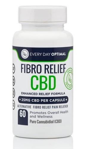 Every Day Optimal CBD Fibro Relief CBD Capsules