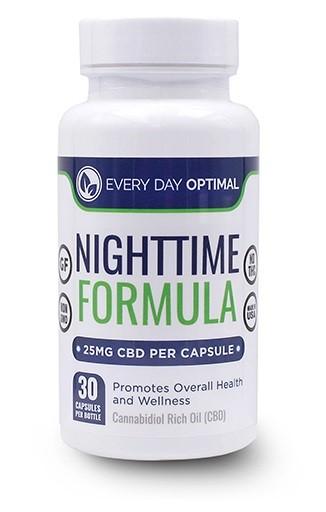 Every Day Optimal CBD Nighttime Capsules