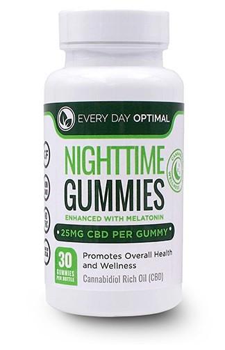 Every Day Optimal CBD Nighttime Gummies