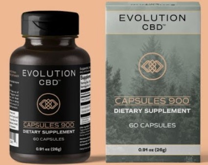 Evolution CBD Capsules