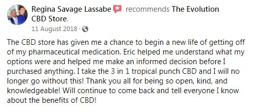 Evolution CBD Customer Review 6