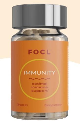FOCL CBD Immunity Capsules
