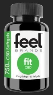 Feel Brands CBD Feel Fit CBD Gelcaps