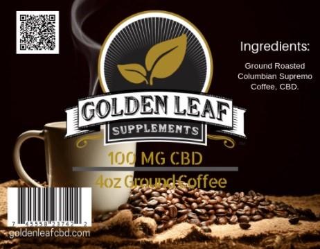 Golden Leaf CBD Coffee