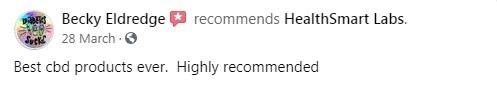HealthSmart CBD Customer Review