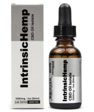 Intrinsic Hemp CBD Isolate Oil