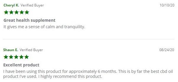 Intrinsic Hemp CBD Oil Customer Reviews