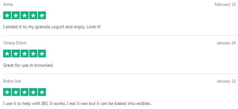 Kats Naturals CBD Activated Edible Hemp Customer Reviews