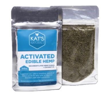 Kats Naturals CBD Activated Edible Hemp