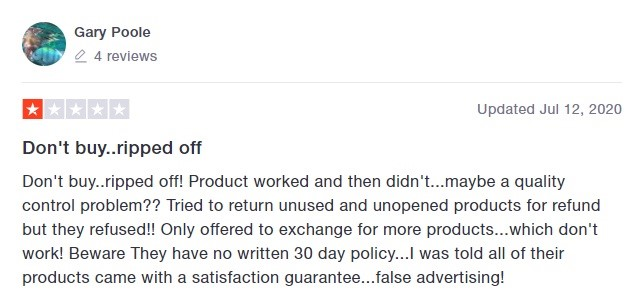 Kats Naturals CBD Customer Review