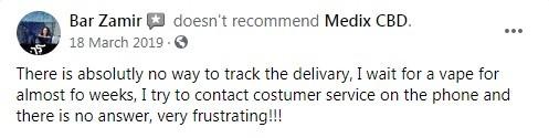 Medix CBD Customer Review 2