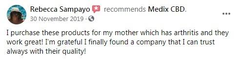 Medix CBD Customer Review 6