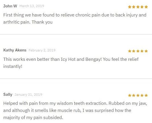 Medix CBD Topicals Customer Reviews