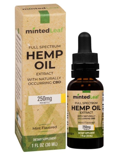 MintedLeaf CBD Full Spectrum Hemp Oil Extract