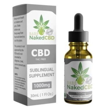 Naked CBD THC Free CBD Oil