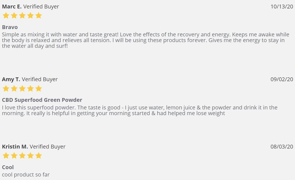 NanoCraft CBD Edibles Customer Reviews