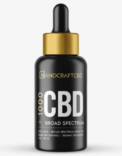 NanoCraft CBD Gold Series CBD Oil
