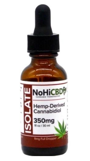 NoHiCBD CBD Isolate Drops