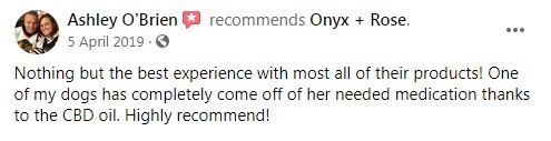 Onyx and Rose CBD Customer Review 4