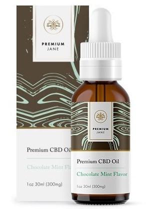 Premium Jane Chocolate Mint CBD Oil