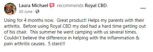 Royal CBD Customer Review 2