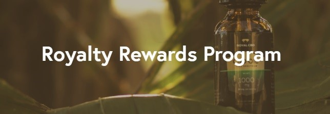 Royal CBD Rewards Program