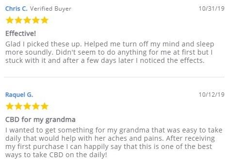Savage CBD Capsules Customer Reviews