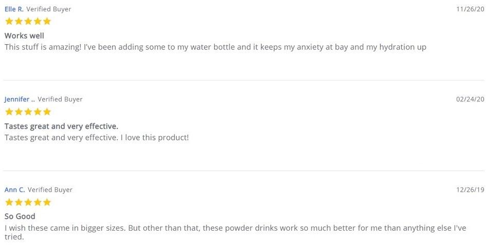 Savage CBD Drink Powder Customer Reviews