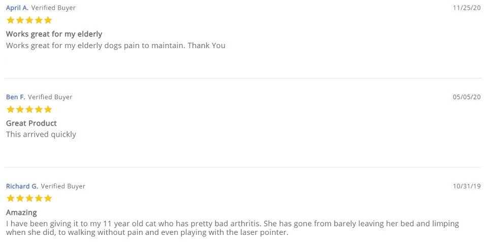 Savage CBD For Pets Customer Reviews