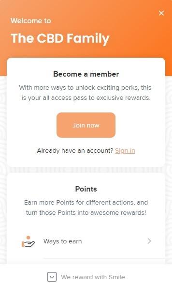 Savage CBD Rewards Program