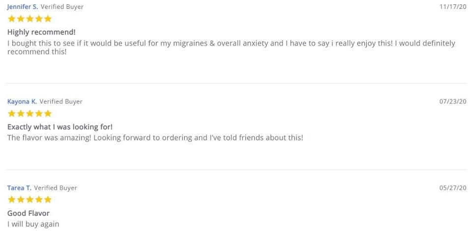 Savage CBD Vape Customer Reviews