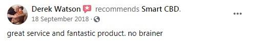Smart CBD Customer Review 3