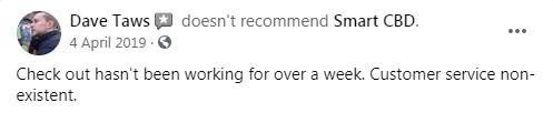 Smart CBD Customer Review