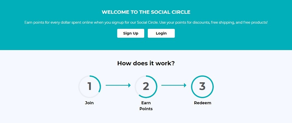 Social CBD Rewards Program