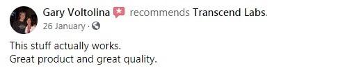 Transcend Labs CBD Customer Review