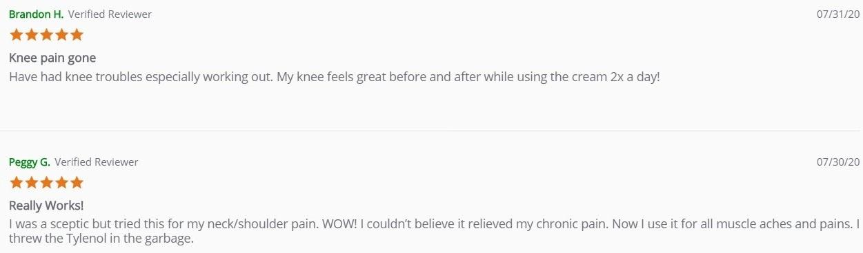 Transcend Labs CBD Topicals Customer Reviews