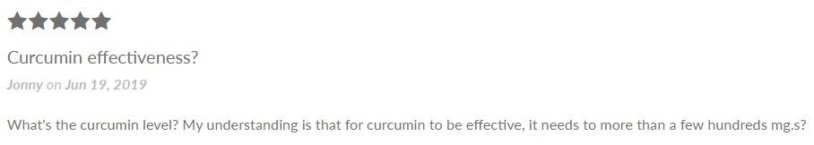 Wildflower Curcumin and Ginseng CBD Capsules Customer Review
