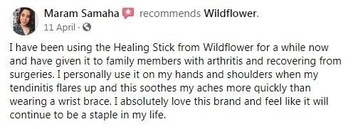Wildflower Customer Review 5