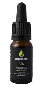 Browns Botanicals CBD CBG Hemp Oil