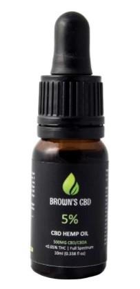 Browns Botanicals CBD Oil