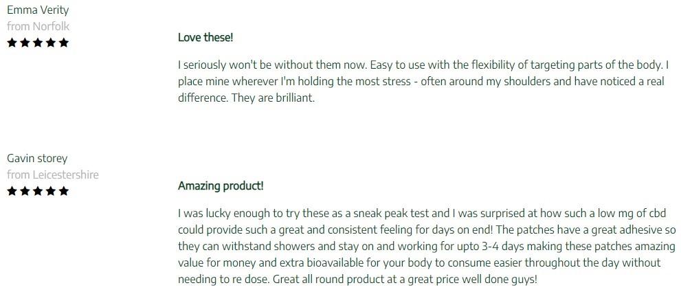 Browns Botanicals CBD Topicals Customer Reviews