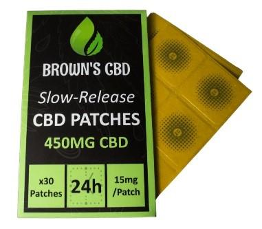 Browns Botanicals CBD Topicals