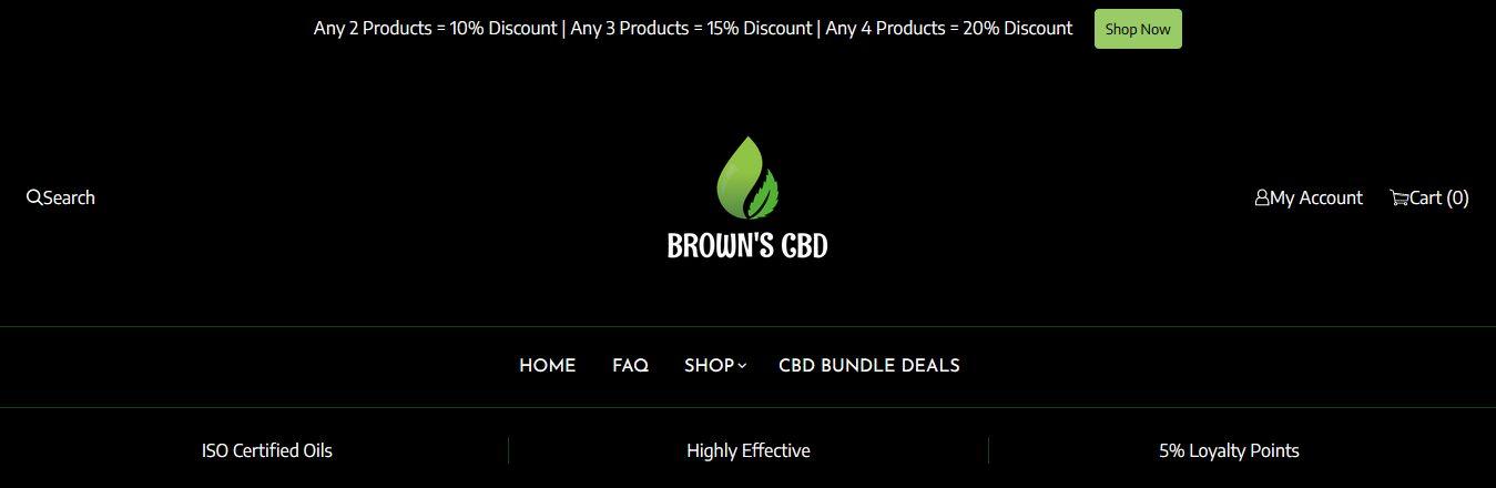 Browns Botanicals CBD Review