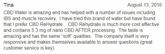 CBD Living Customer Review