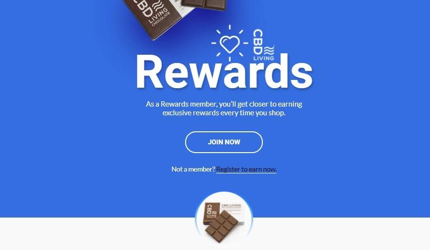 CBD Living Rewards Program