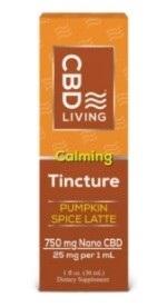 CBD Living Spice Latte CBD Tincture