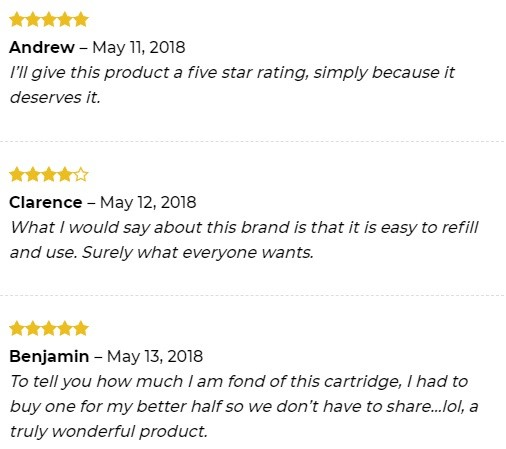 Empe USA CBD Vape Customer Reviews