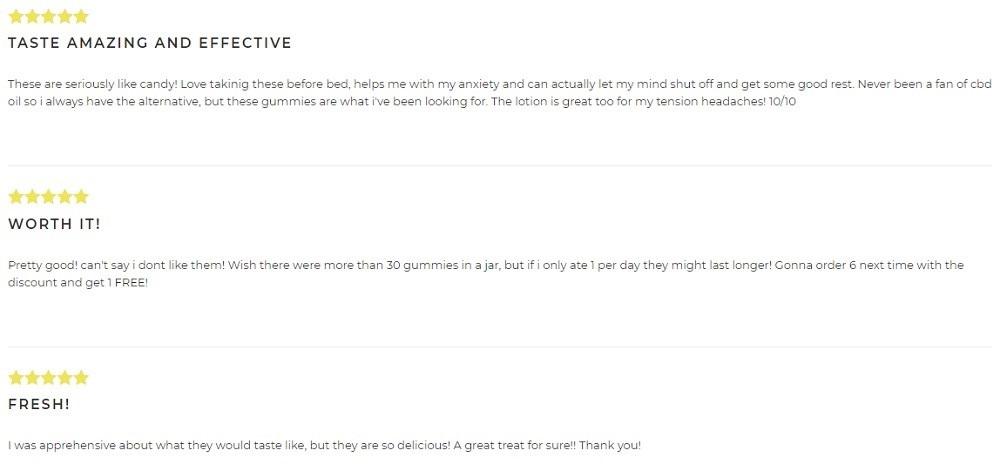 EndoCoast CBD Gummies Customer Reviews