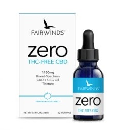 Fairwinds CBD Broad Spectrum CBD Oil