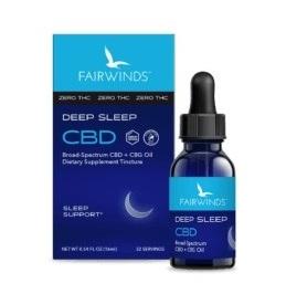 Fairwinds CBD Deep Sleep Tincture